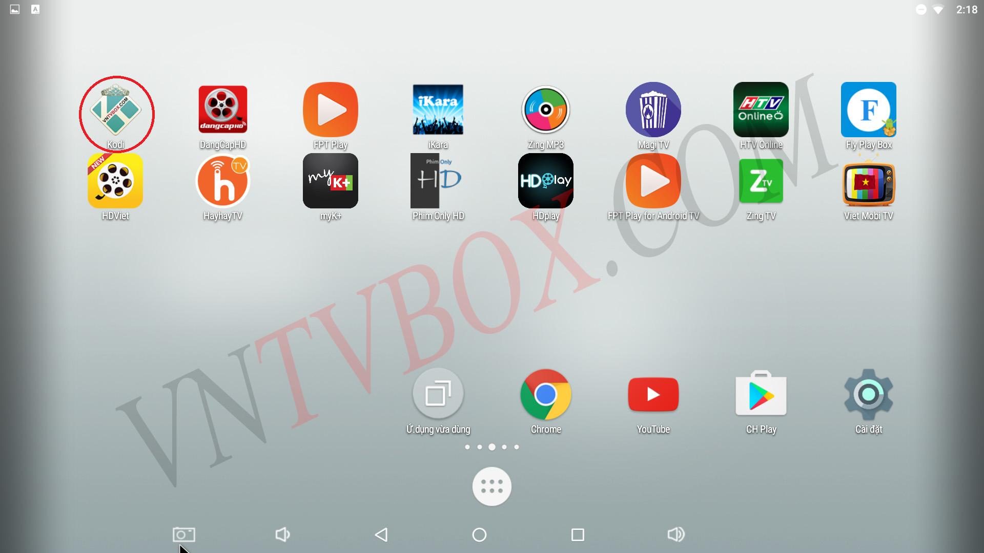 Xem truyền hình xem lại trên Android Tv Box Mecool BB2