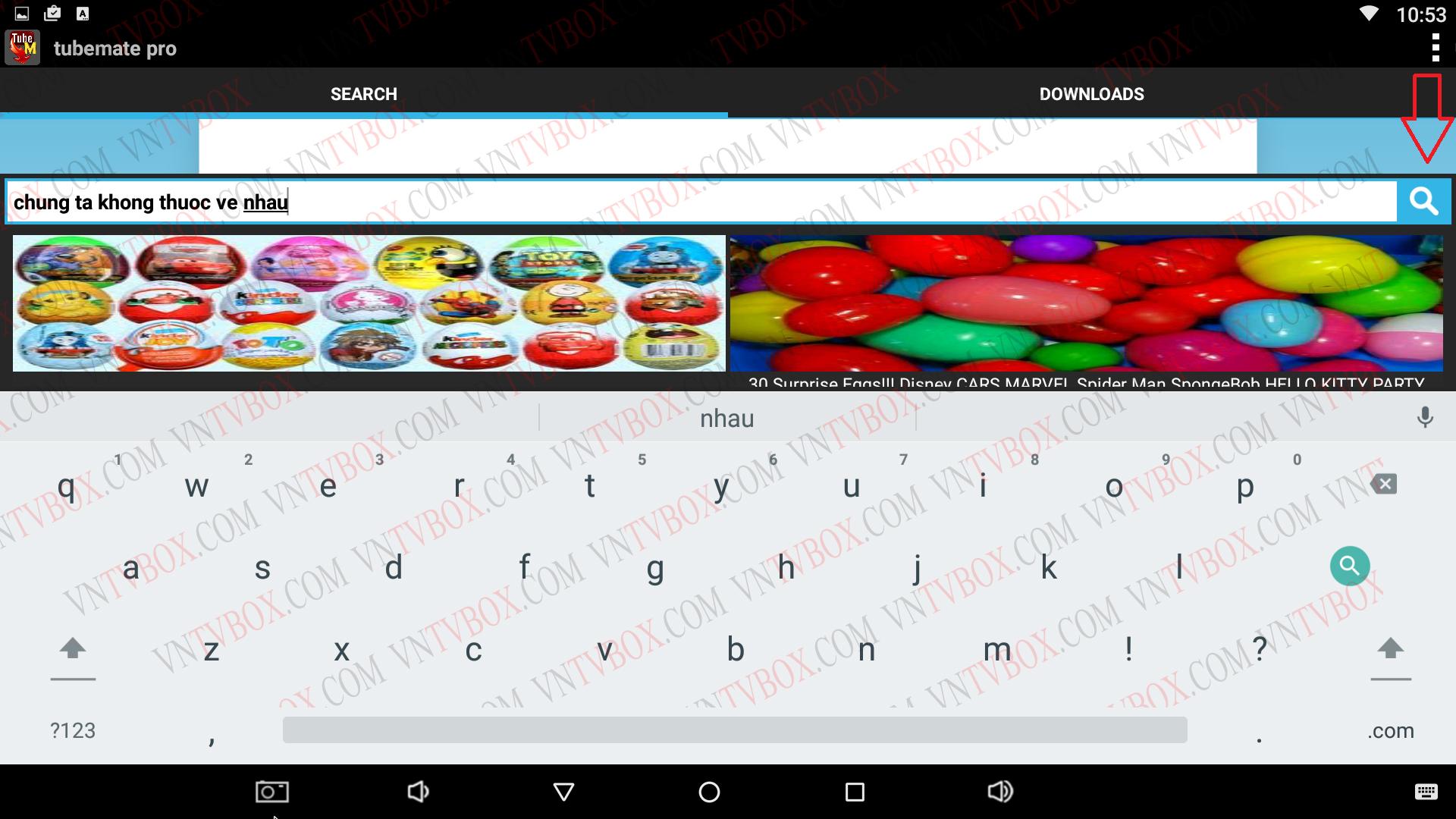 Hướng dẫn cách tải video trên youtube dành cho Android Tv Box