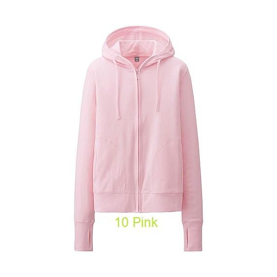 áo khoác chống nắng uniqlo 10 pink