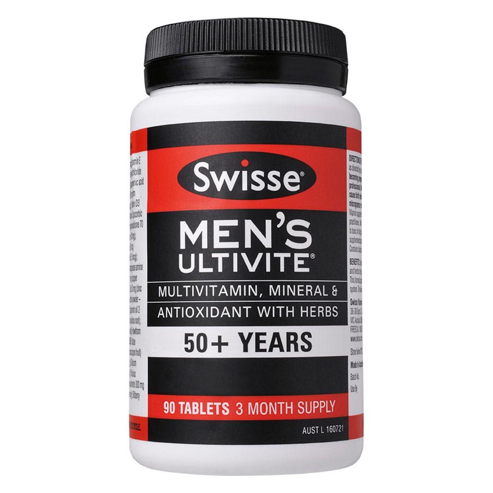 vitamin tông hợp swisse men's ultivite 50+ 9311770587266