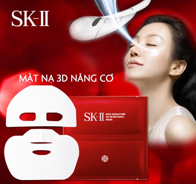 mặt nạ Mặt nạ SK-II Skin Signature 3D: