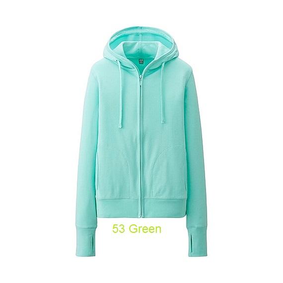 uniqlo 53 green
