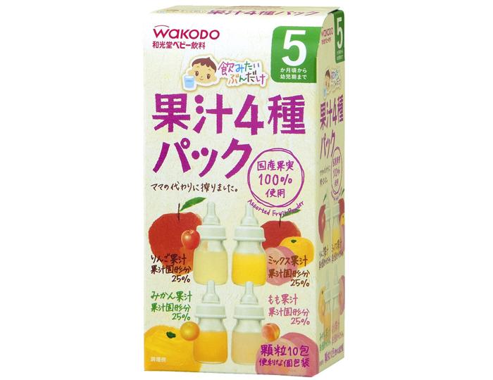 Bột trái cây wakodo Nhật 4987244153036