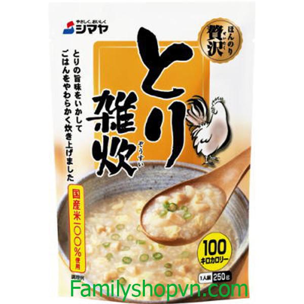 cháo shimaya thịt gà Nhật Bản 4901740710098