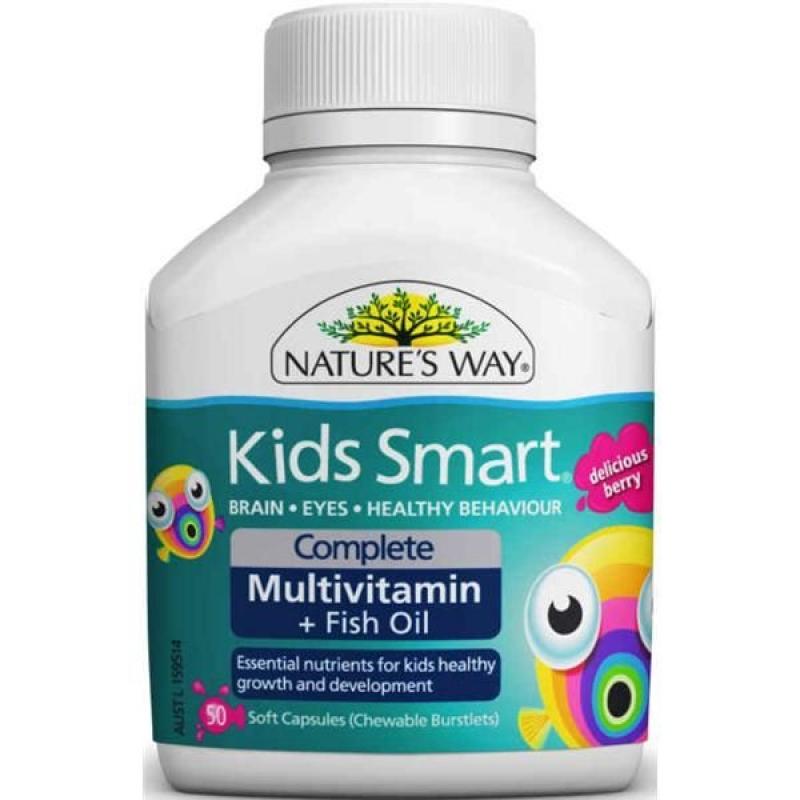 Dầu cá , vitamin tổng hợp cho bé