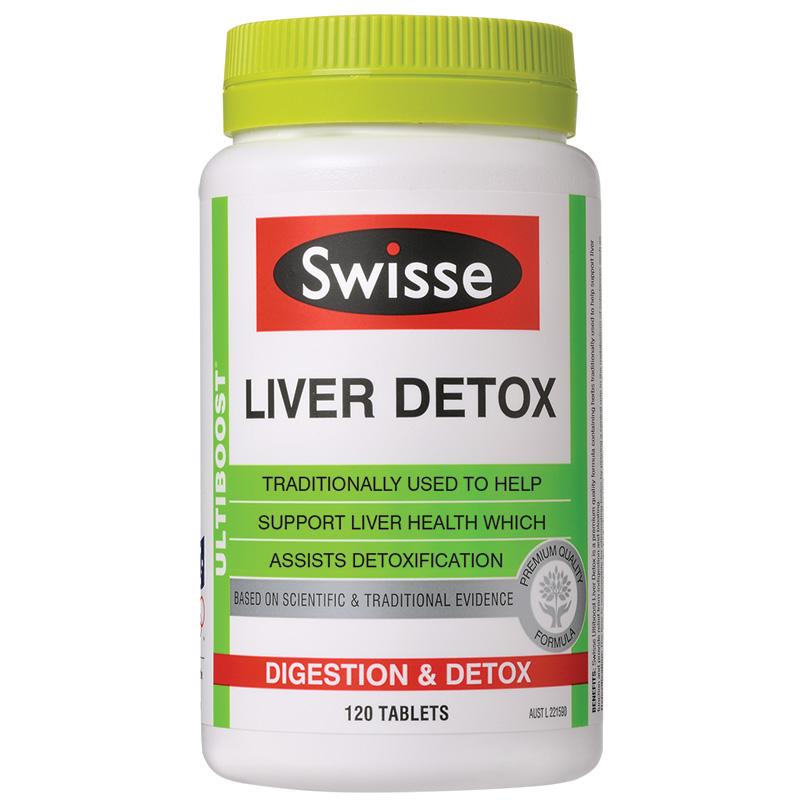 giải độc gan Swisse Ultiboost Liver Detox 9311770589994
