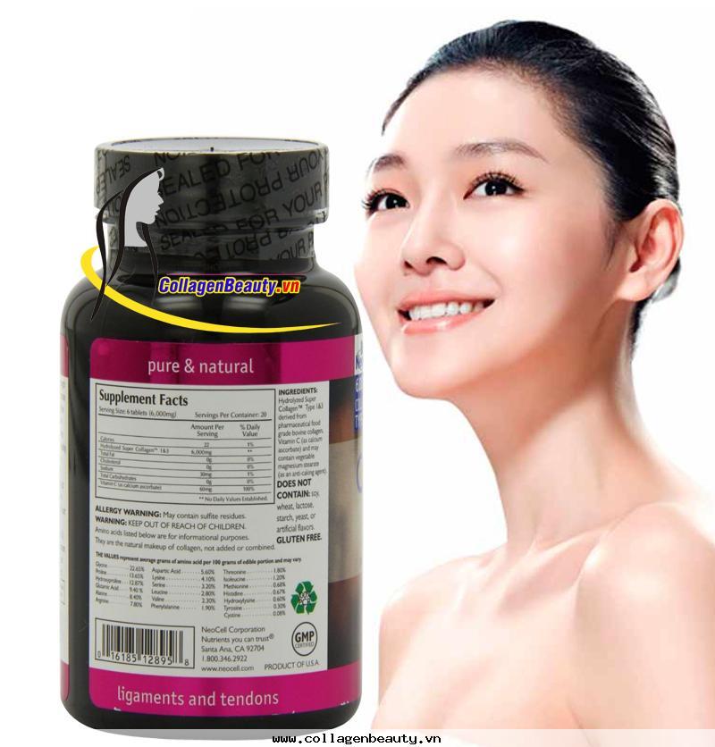 trẻ hóa làn da với super collagen