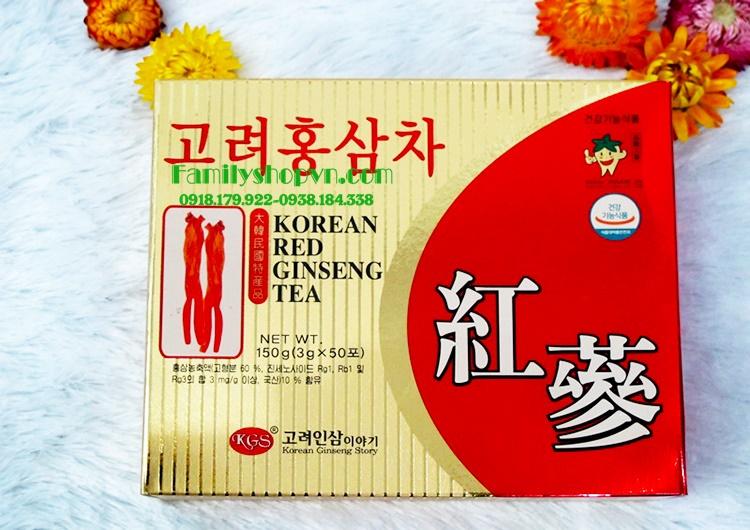 Trà sâm kgs 50 gói Hàn Quốc