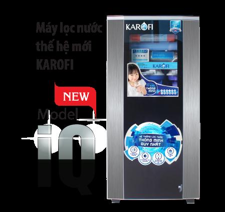 Tủ máy lọc nước Karofi IQ cao cấp