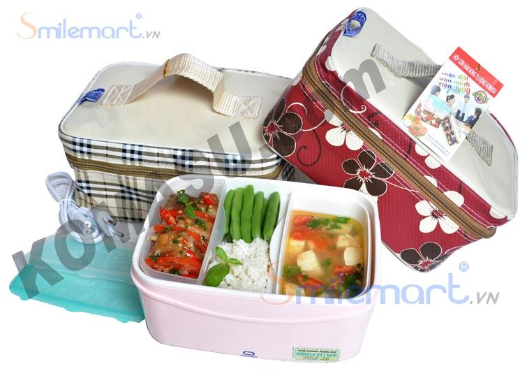 Hộp cơm Komasu KM48T - có túi