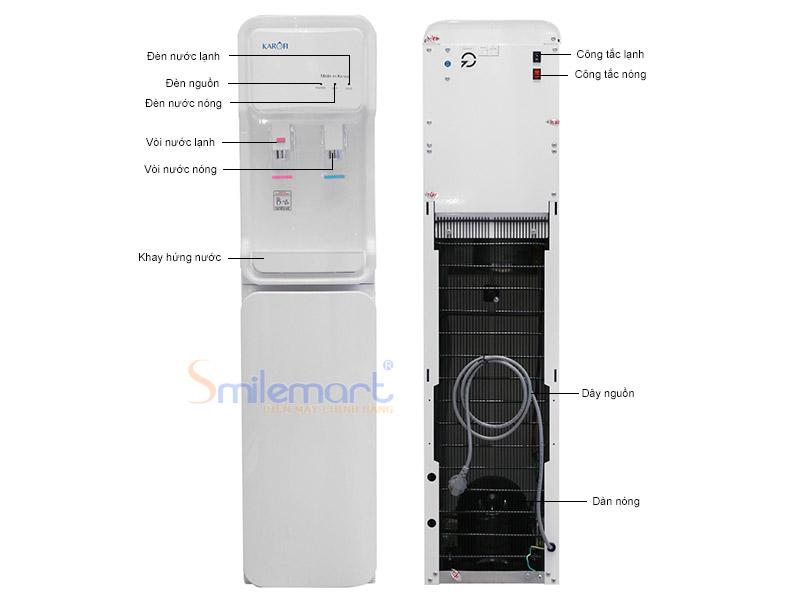Máy làm nóng lạnh nước uống Karofi GD-500