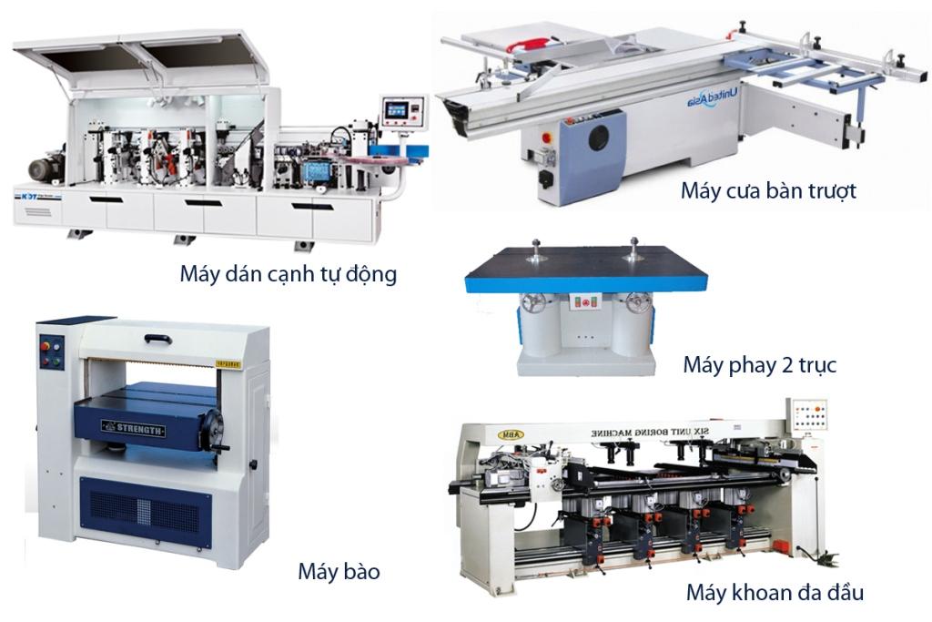 máy sản xuất tủ bếp
