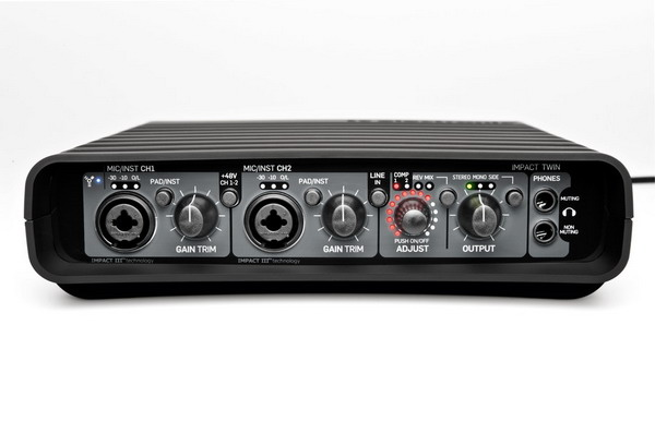 Sound card thu âm Firewire TC Impact Twin