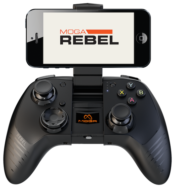 Moga Rebel - Tay cầm game cho iPhone 6, 6 Plus, iPad 4, iPod 5