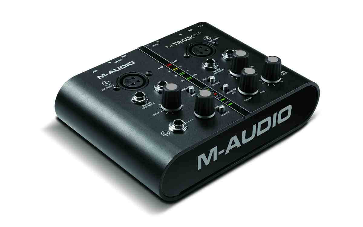 Sound card thu âm Maudio MTrack Plus