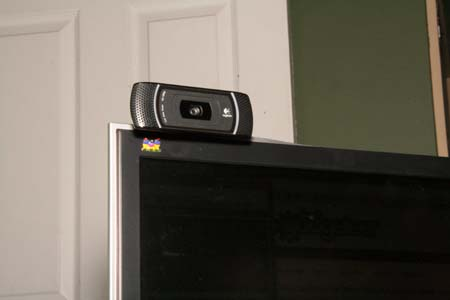 Webcam Logitech HD Pro Webcam C910