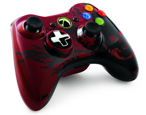 Gamepad Xbox360 wireless Gears of War 3