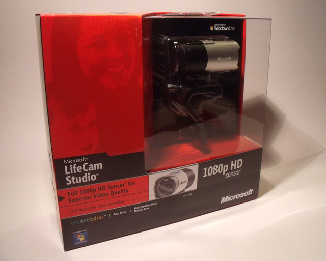 Webcam Microsoft LifeCam Studio HD 1080
