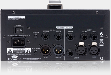 Preamp Focusrite ISA One
