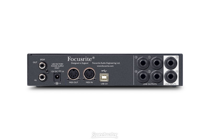 Sound card thu âm USB Focusrite Scarlett 8i6