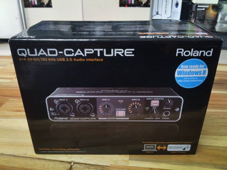 Sound card thu âm USB Roland UA-55