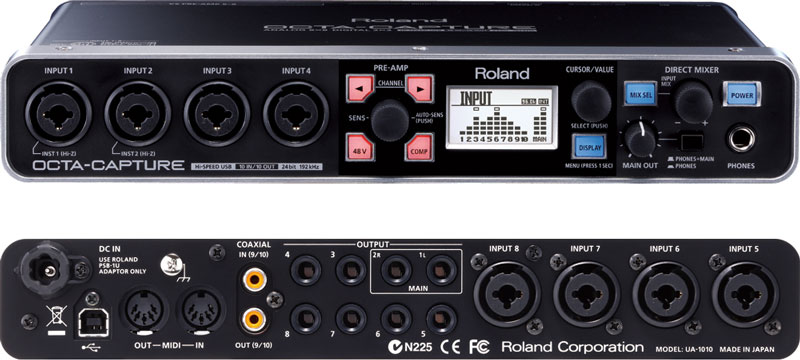 Sound thu âm USB ROLAND OCTA-CAPTURE UA 1010