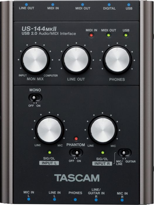 Sound card thu âm Tascam US-144 MKII