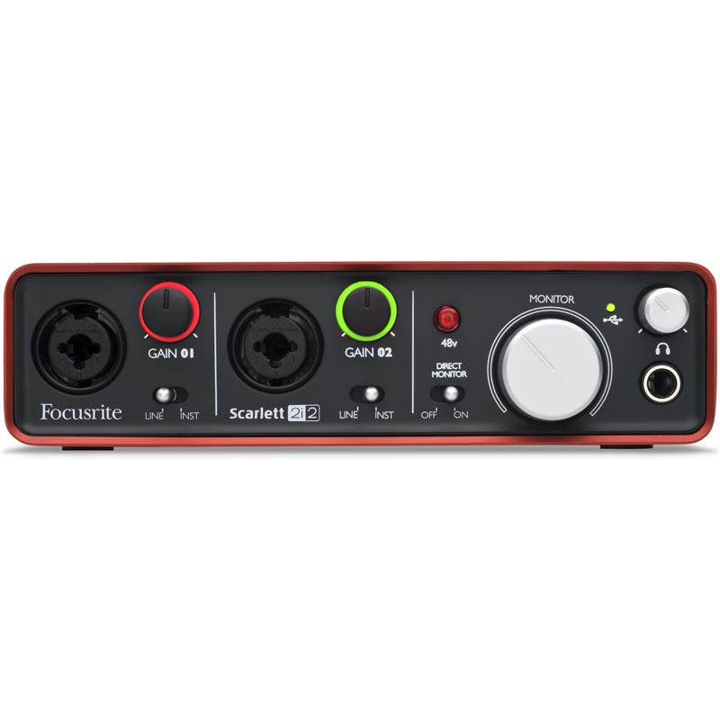 Sound card thu âm USB Focusrite Scarlett 2i2