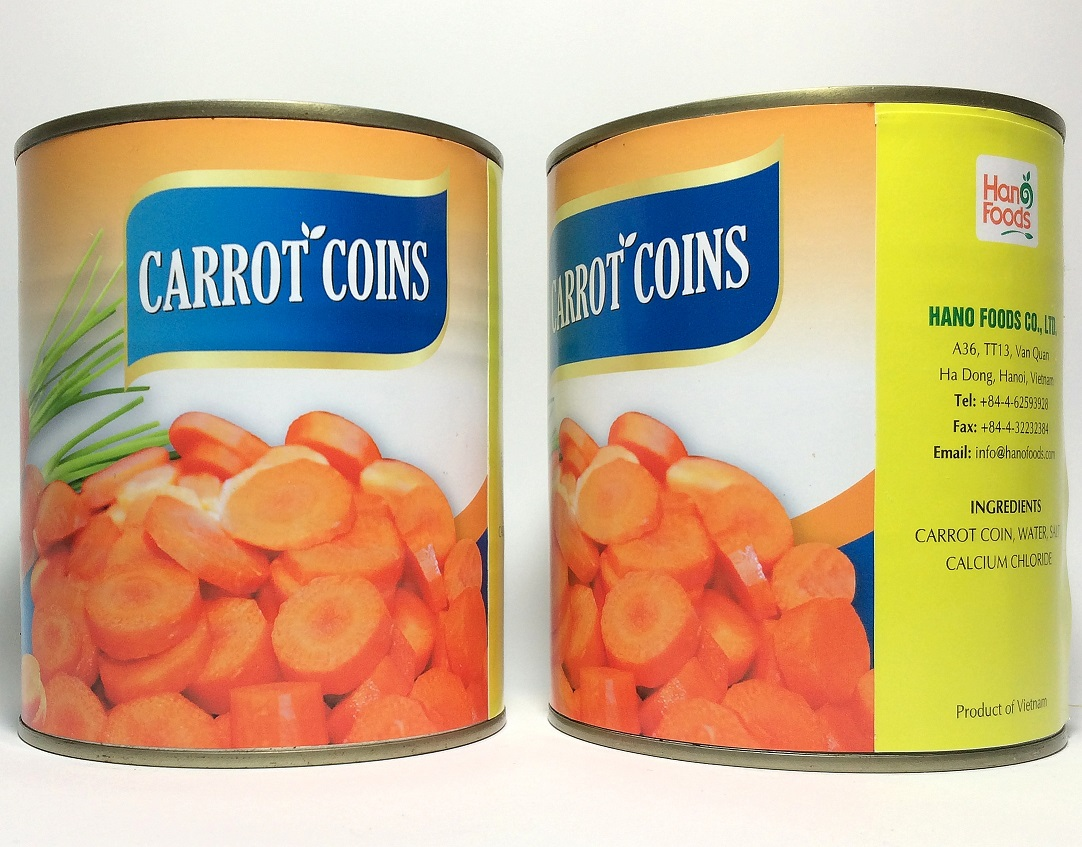 Carrot coins