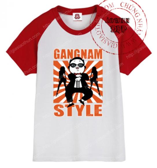 áo thun hàn quốc gangnam style