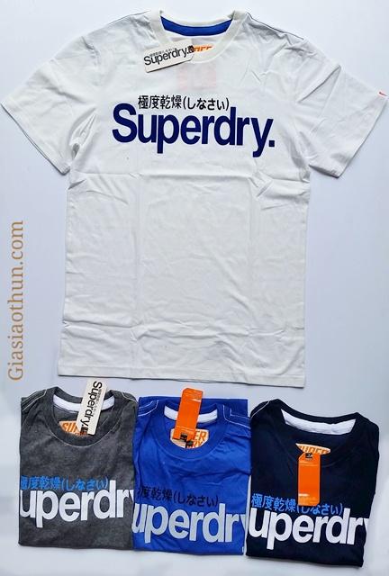 áo thun nam superdry