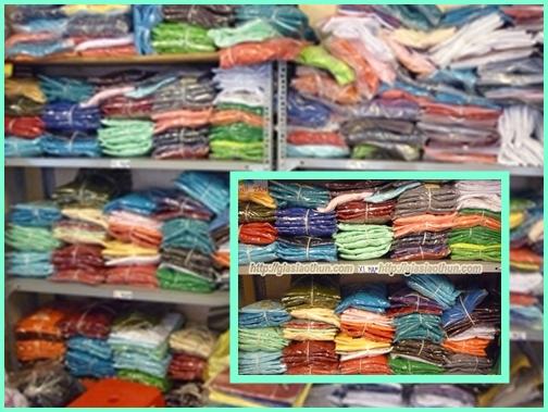 Kho quần áo giá sỉ tại Thanh Tâm Shop