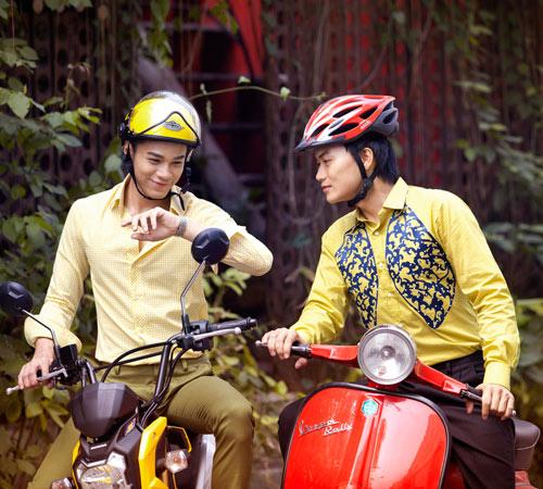 Thanh niên Sài Gòn ăn mặc khá hợp mốt