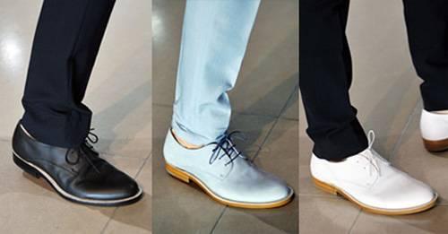 thời trang giày nam 2013
