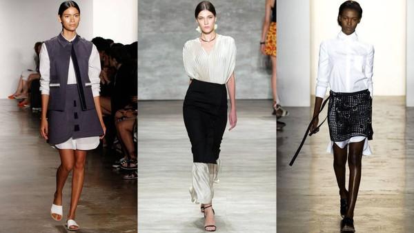 Phá cách với váy-layer-váy