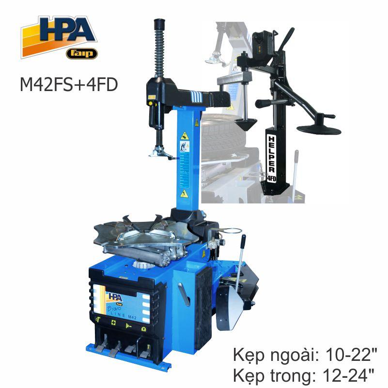 Máy ra vào lốp HPA M41+4FD