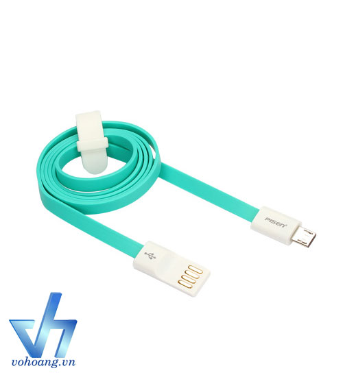 Cable microUSB PISEN 800mm for Smart Device