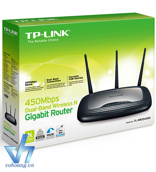 TP-Link WR2543ND - 450Mbps Wireless N