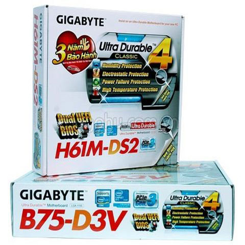 Main Board GigaByte H61/DS2