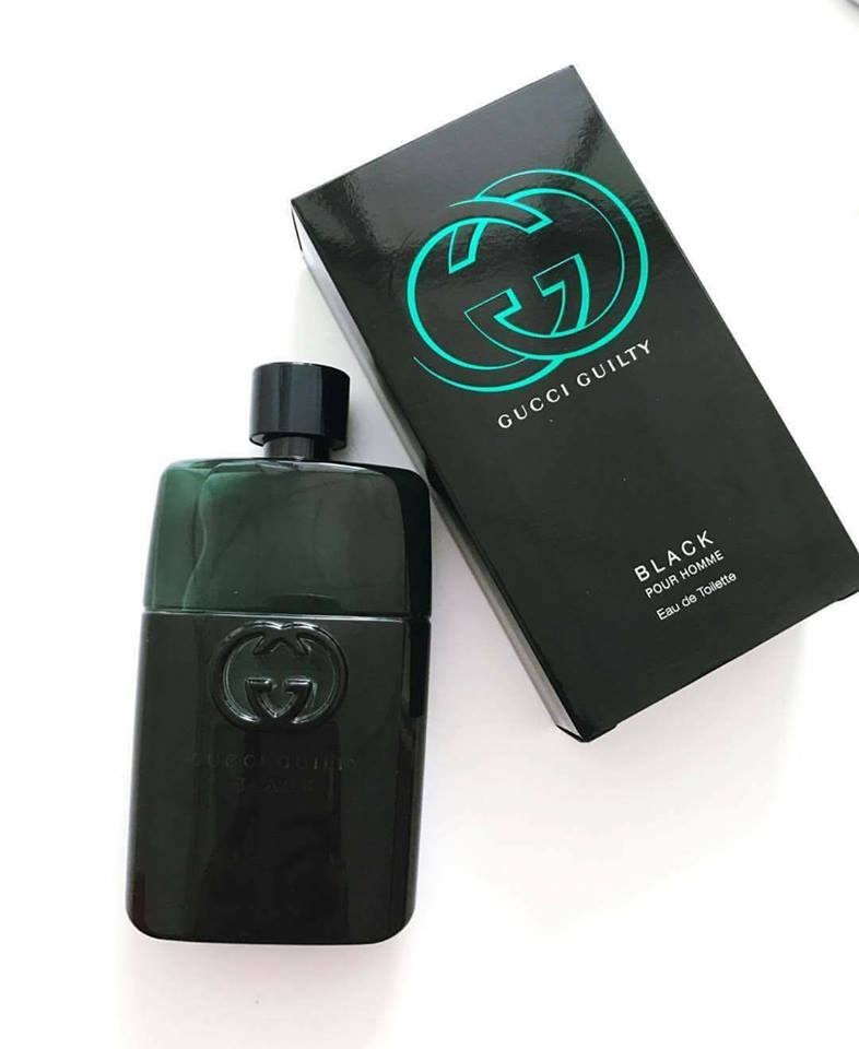 Nước Hoa Nam Guilty Black Pour Homme EDT 100ml