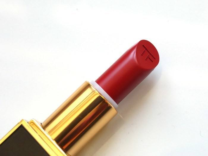 Son Tom Ford lip color matte - 07 ruby rush