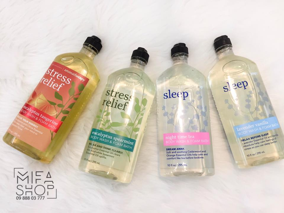 SỮA TẮM BATH AND BODY WORKS STRESS RELIEF