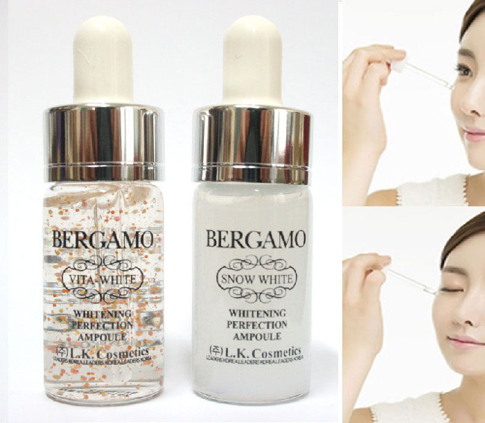 Serum Bergamo Snow White Whitening Perfection