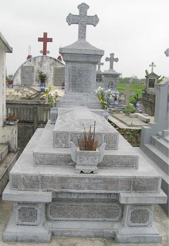mộ công giáo, mộ đá công giáo