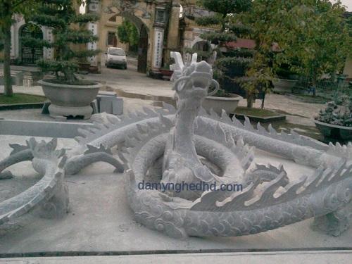 tượng rồng bằng đá, rồng đá
