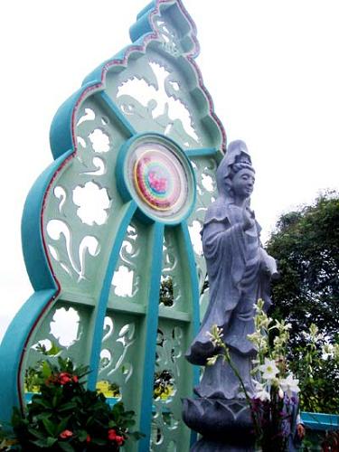 tượng quan âm đá xanh