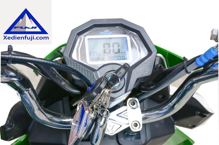 đồng hồ điện tử xe máy điện xmen fuji