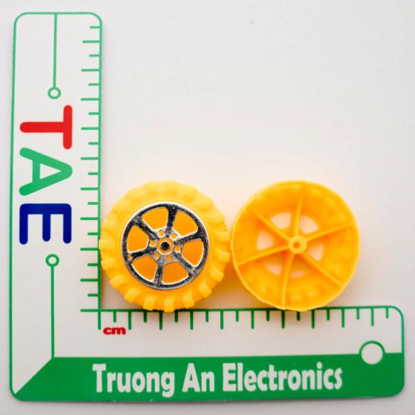 Bánh Xe Robot Nhựa