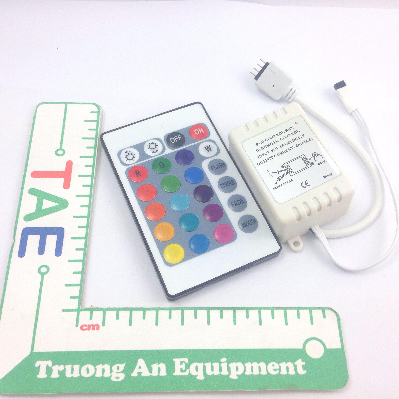 Bộ Điều Khiển Led RGB Có Remote