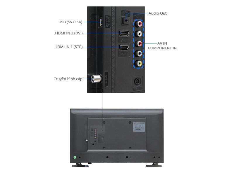 TIVI LED Samsung UA32J4003-32, HD 100Hz
